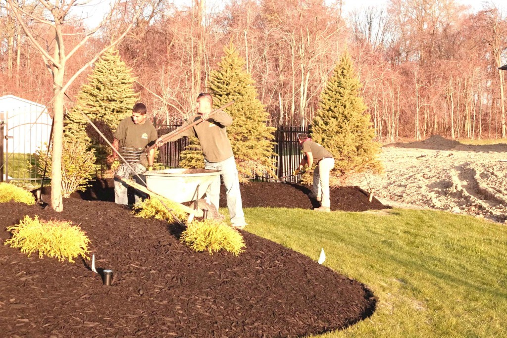 Mulch by Hand